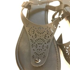 Sonoma Shoes - Sonoma Black Casual Summer Sandals Brand New